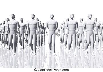 Teamwork Business Concept 3D render