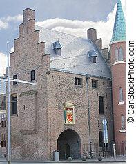 Gevangenpoort,  Hague, Den Haag. Netherlands