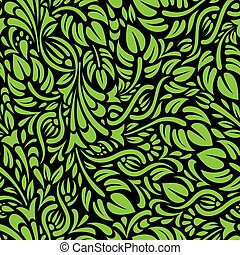 floral seamless pattern - for exam