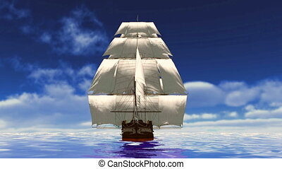 sailing boat - image of sailing boat