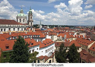 Prague - St. Nicholas Church in Lesser Town