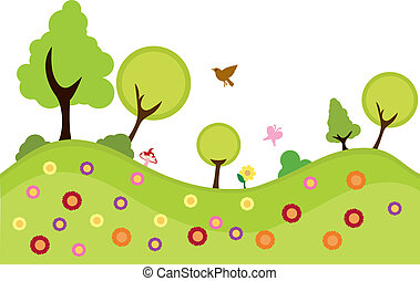 environment plants background to be used for greenery,...