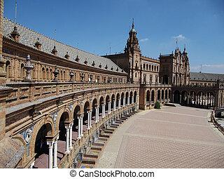 Plaza de España - Plaza de Espa?a, Sevilla...