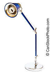 Desk lamp on white background