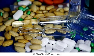 Many tablets,injection,syringe capsules