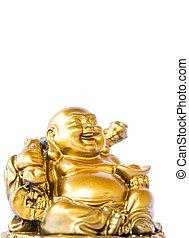 Bouddha, heureux