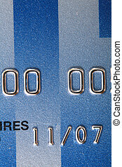 Creditcard - Close-up of a credit card