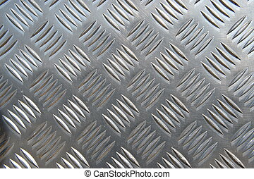 Metal Plate - detail of a metal surface