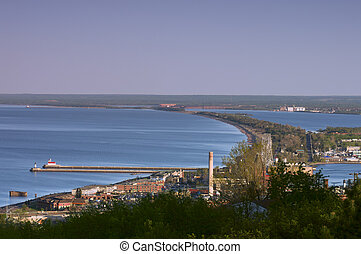 Lake Superior Shores in Duluth - Overview of Lake Superior...