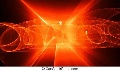 orange red seamless looping bg