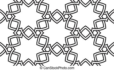 Vector seamless pattern of Celtic