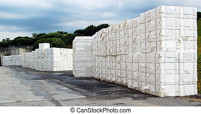 Paper and pulp mill - Cellulose. It mainly obtained from...