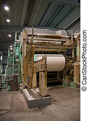Paper and pulp mill - Factory, Plant
