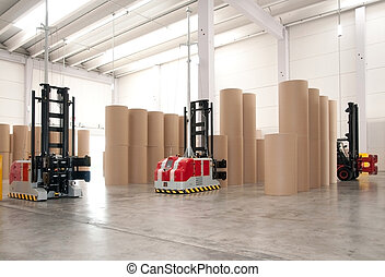 Automated warehouse paper - Automated warehouse paper and...