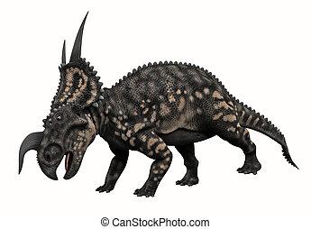 Horned Dinosaur  - 3D render of a Horned Dinosaur