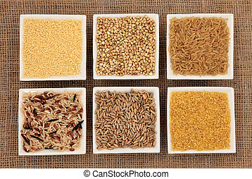Cereal and Grain Selection