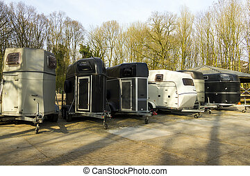 horse trailers  - horse trailers