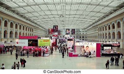 Panorama of XVII International Festival World of Beauty 2010...