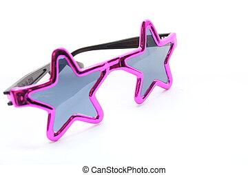 Pink Star Sunglasses - Pink Star sunglasses for a girl...