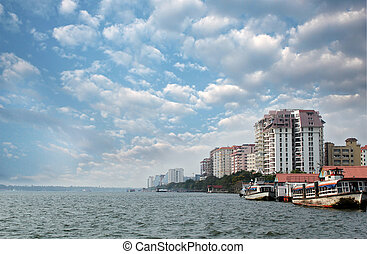 Economic capital of kerala - Kochi's skyline - Economic...