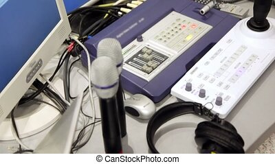 Audio and video equipment for remote control of multiple...