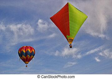 Hot Air Ballooning - Hot Air Balloon Rally in Erie Colorado