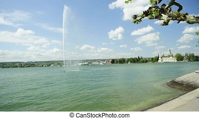 Germany lake Bodensee, view to Konstanz