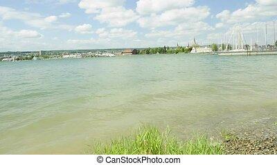 lake Bodensee view to Konstanz