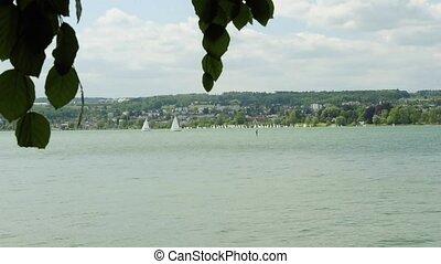 sailing ship at lake Bodensee