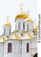 Arkhangelsk cathedral in Kremlin, Moscow, Russia