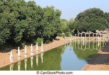 Canopus in Hadrian Villa near Rome, Italy