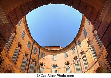 Communal theatre Ferrara Emilia-Romagna Italy