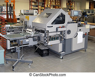 Press printing - Finishing line - Print house - Post press...