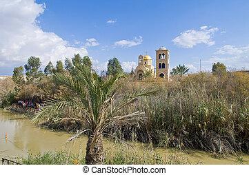 Qasr al yahud - The baptismal site Qasr al yahud in the...
