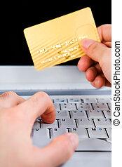 Online transaction concept