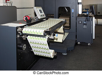 Digital printer for labels - Digital press printing is the...
