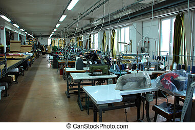 Italian tailoring: laboratory - Italian factory that sells...