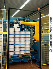 Textile industry (denim)
