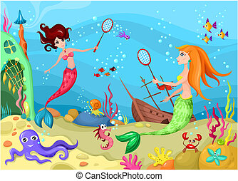 Sea life Clip Art Vector Graphics. 24,213 Sea life EPS clipart ...