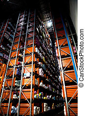 Automatic warehouse - Italian clothing factory - Automatic...