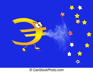 End of euro.