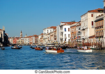 Canal Grande - Grand Canal, Venice - The Grand Canal...