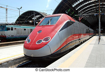 Milan Central railway station - Milan Central Station in...