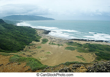 Taiwan Keting National Park South Coast sight view