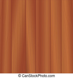 Cherry Wood Paneling - Background pattern of dark wood...