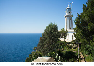 La Nao lighthouse - La Nao lighhouse, on the easternmost...