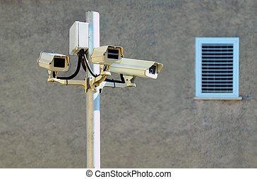 Security Cameras  - Surveillance cameras.