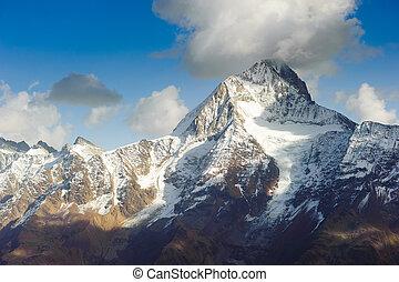 Bietschorn mountain peak - Bietschhorn mountain peak, view...
