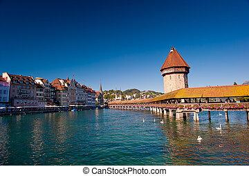 Chapel Bridge, Luzern