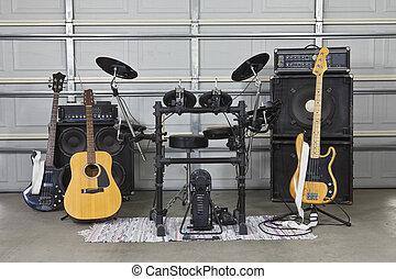 Garage Band Set Up